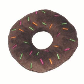 Brinquedos Para Pet - Pelúcia Fun - Donuts - Marrom - Pet Br