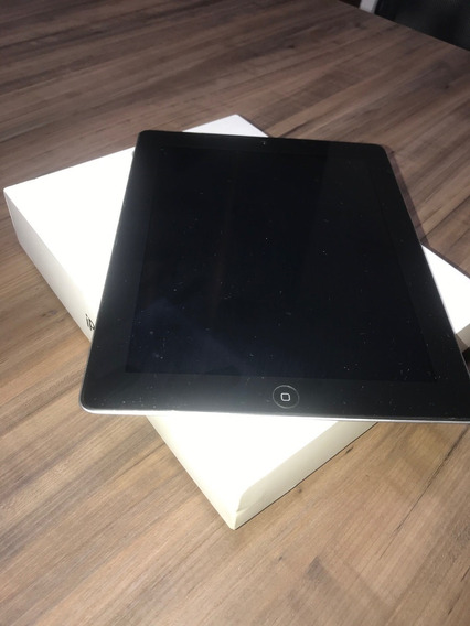 iPad 3 Apple Wi-fi 4g 64gb Md368e/a Preto Usado