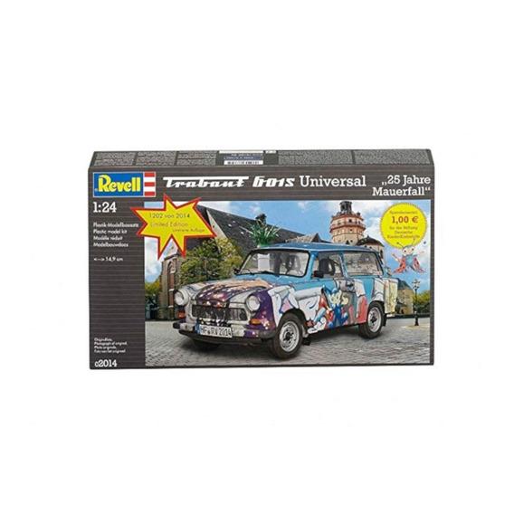 Trabant 601s Universal 25 Jahre Mauerfall 1/24 Revell 02014
