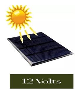 Painel Placa Solar 12v 1,5w Célula Mini Sistema Frete Grátis