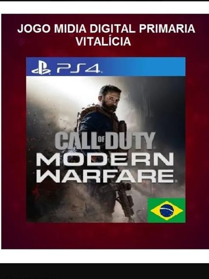 Call Of Duty Modern Warfare Ps4 1 Dublado Em Português