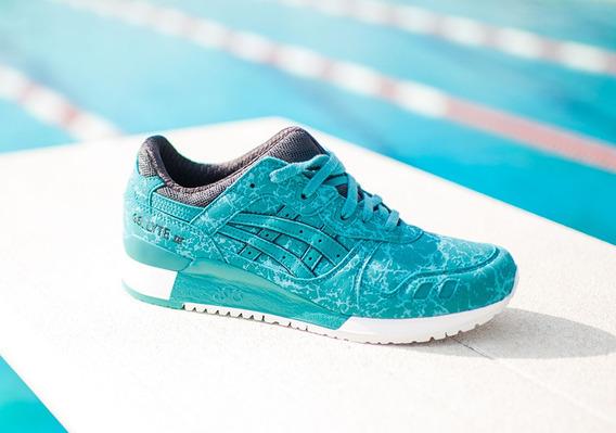 Tenis Asics Gel Lyte Iii Kingfisher Chlorine Blue