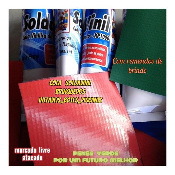 Cola 300ml P/brinquedos Inflavéis Tobogã Kit C/01+brinde
