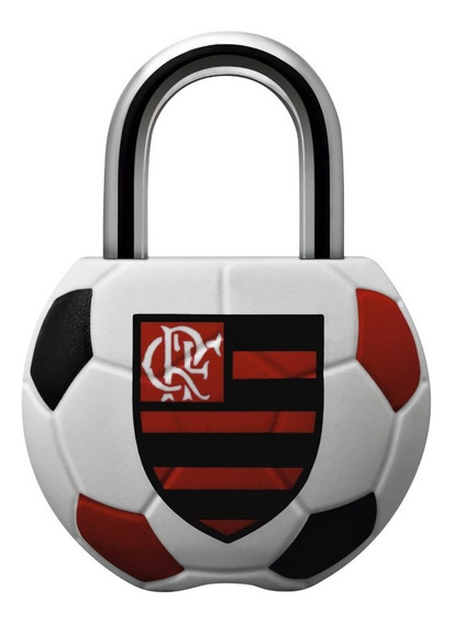 Cadeado Papaiz Futebol Clube 25mm Flamengo