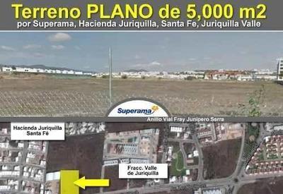 Se Vende Hermoso Terreno Plano De 5,000 M2 Frente A Superama