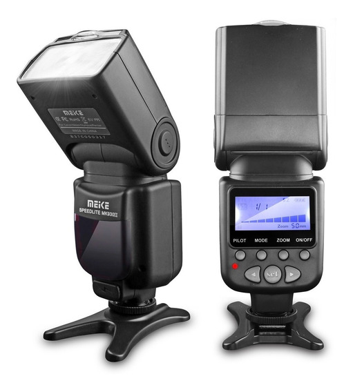 Flash Para Nikon Canon Sony Pentax Meike Mk 930ii Somos Loja