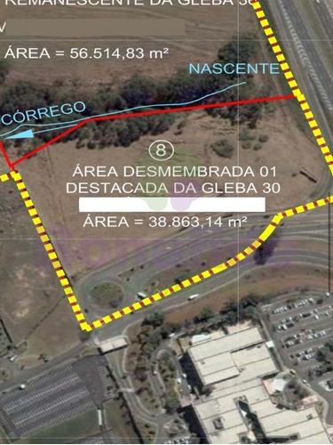 Área A Venda, Rodovia Dom Pedro I, Campinas - Ar00076 - 68867748
