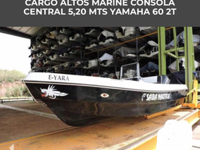 Lancha Tracker Cargo 5,20 Yamaha 60 2t Power Trim