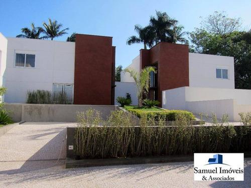 Casa Com 4 Dormitórios À Venda, 533 M² Por R$ 5.990.000,00 - Brooklin - São Paulo/sp - Ca0168