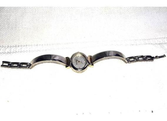 041 RLG- Relógio De Pulso Gucci- Quartz- Japan Antigo Colec