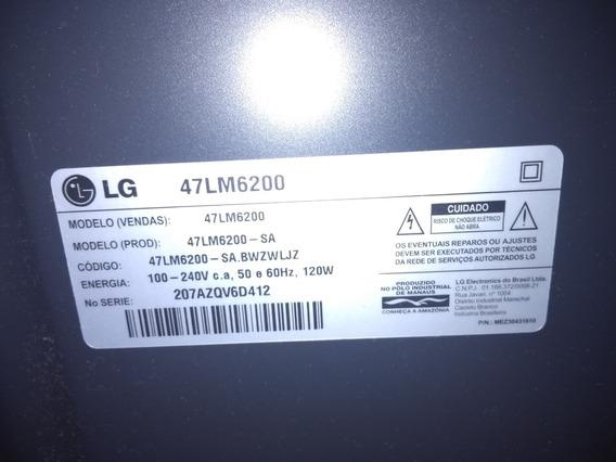 Tv Smart Lg 3d 47 Lm6200 3 Anos De Uso