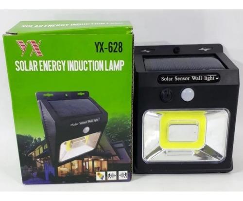 Lampara Foco Luz Led 20 Panel Solar Sensor Con Movimiento