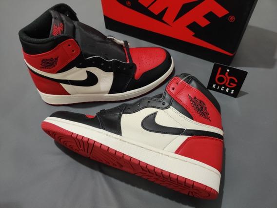 Jordan 1 Retro High Bred Toe - Size 40