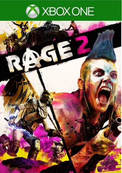 Rage 2 + 1 Jogo Brinde Xbox One - Garantia Vitalícia