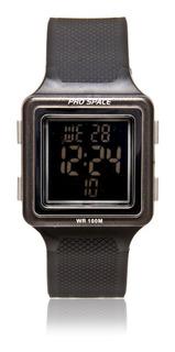 Reloj Pro Space Dd Bgc. Con Luz. Sumergible. Nuevo