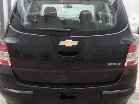 Chevrolet Spin 1.8 Lt 5as 105cv Taxi Negro Ultimas#6