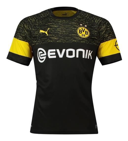Camiseta Borussia Dortmund Negra Bundesliga Alemania 2018/19