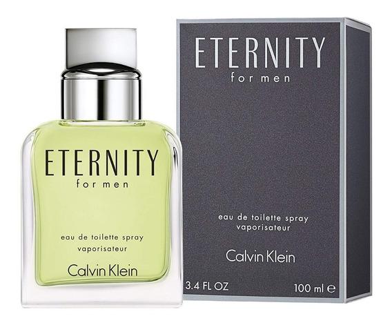 Perfume Eternity For Men 100ml Calvin Klein - Original