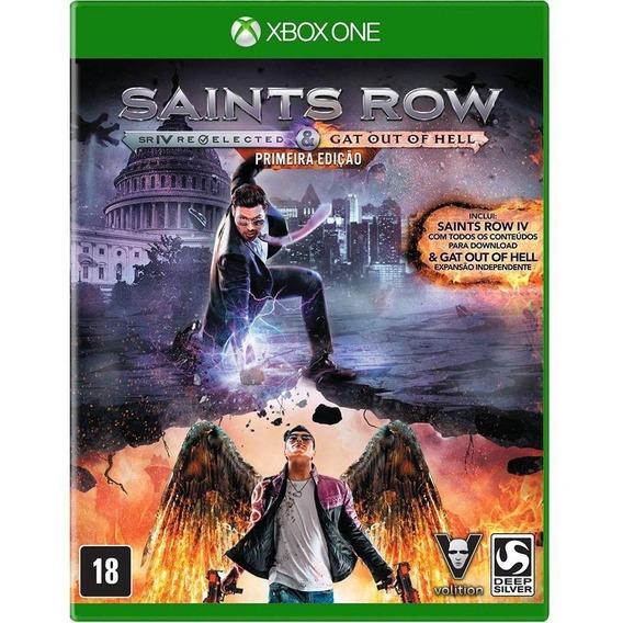 Saints Row Iv Re-elected & Gat Out Of Hell Xbox One Lacrado