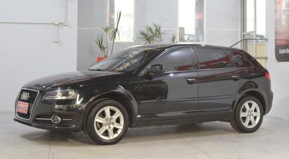 Audi A3 Sportback 1.4t Fsi Nafta 2012 5 Puertas Color Negro