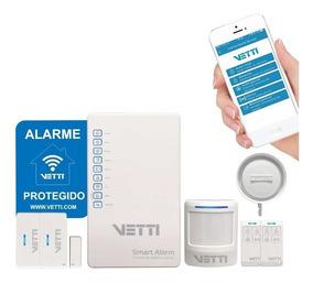O Kit Alarme Sem Fio Smart Gsm - Vetti