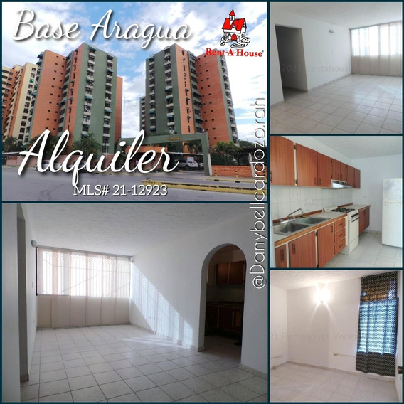 Alquiler De Apartamento En Base Aragua Cod:21-12923 Dlc