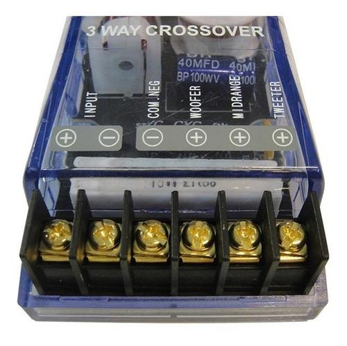 Crossover Divisor De Frecuencia 3 Vías 100w Blauline Bcr310