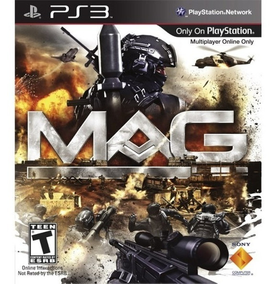Game Play3 - Mag - Semi-novo Jogo Ps3