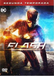 The Flash Serie - Temporada 2 Completa Dvd (2015 - 2016)