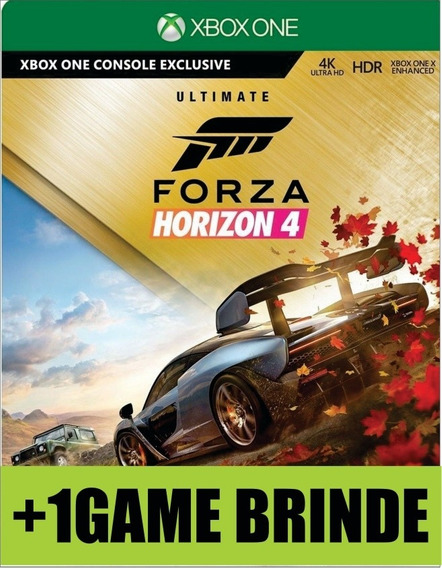 Forza Horizon 4 Ultimate Xbox One Mídia