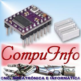 Driver Drv8825 Cnc Shield Router 3d Arduino Passo