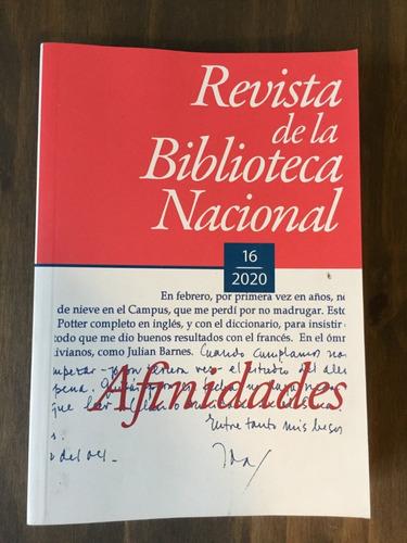Imagen 1 de 2 de Libro Revista De La Biblioteca Nacional 15 Y 16 - 2020