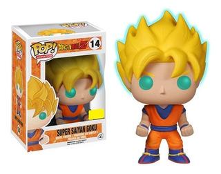 Funko Pop Animation Dragon Ball Z Ss Goku (glow-in-the-dark)