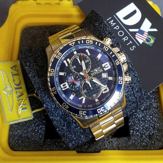 Relógio Invicta Specialty Original Ouro 18k