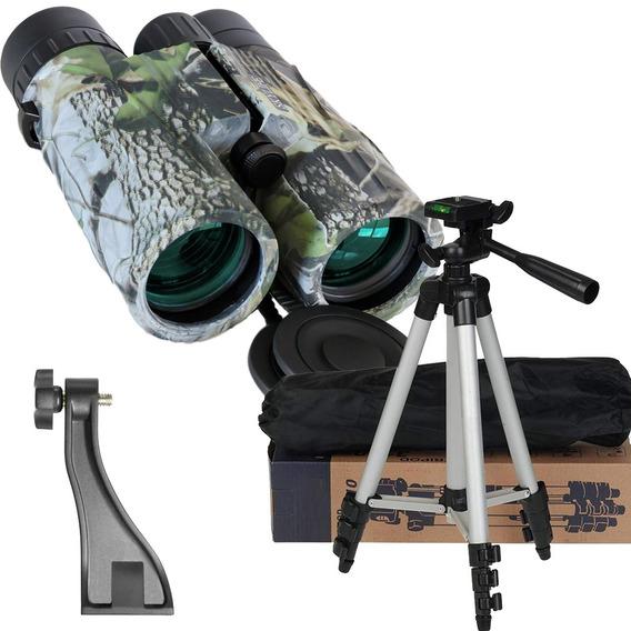 Binóculo Skylife Electro 8x42 + Tripé Versus + Adaptador Bino + Possui A Melhor Imagem Do Mercado Óptico Na Categoria
