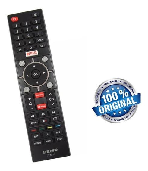 Controle Remoto Smart Tv Semp Toshiba Ct6840 Original Novo