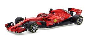 Fórmula 1 Ferrari Sf71h N5 Sebastian Vettel 2018 1:18 Bburag