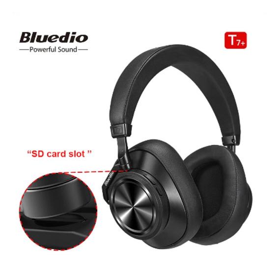 Fone Bluetooth Bluedio T7 Plus Entrada Cartão Sd Promoção