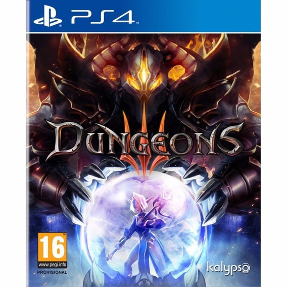 Dungeons 3 Ps4 Midia Fisica