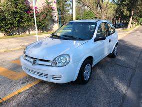 Chevrolet Chevy 2007 3p Estándar Excelente Manejo