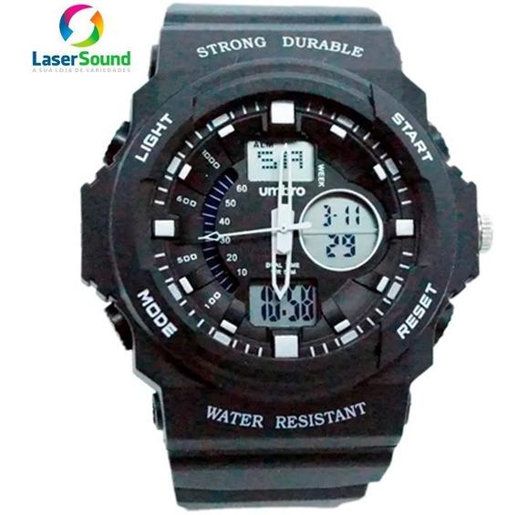Relógio Umbro Masculino Umb-123-1 C/ Garantia E Nf