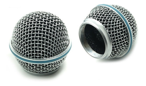 Kit 5 Globo Shure Microfone Beta58 Sm58 Slx Pgx S580 Uh01lyc