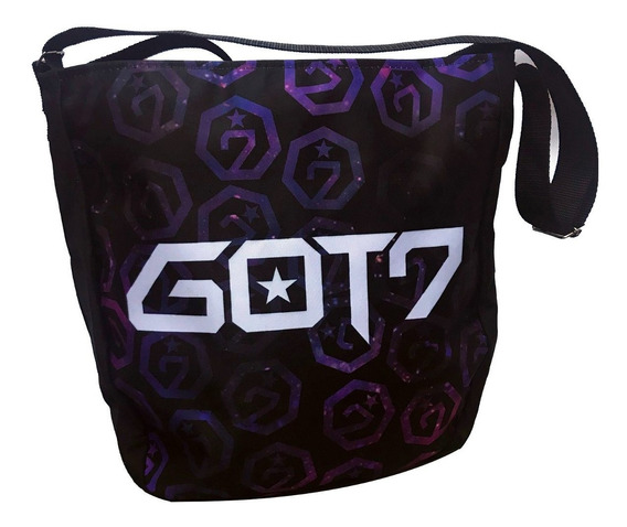 Bolsa Got7 K-pop Escolar Mochila Bts Rap Bambam Mark Tuan