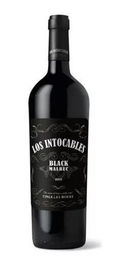 Los Intocables Black Malbec C/02 Unidades