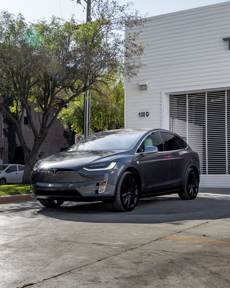 Tesla Model X 2019 Color Gris 5 Puertas Camioneta Electrica