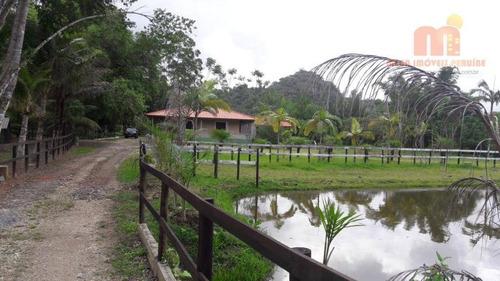 Chácara Com 4 Dormitórios À Venda, 37576 M² Por R$ 1.250.000,00 - Ana Dias - Itariri/sp - Ch0125