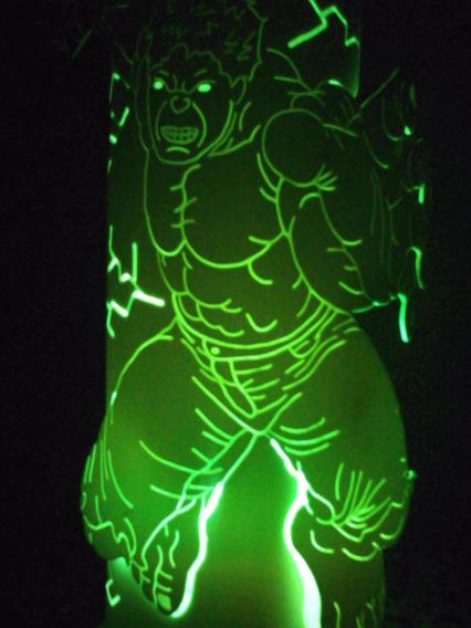 Luminária Pvc Hulk