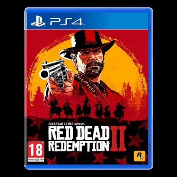 Jogo Red Dead Redemption 2 - Ps4, Midia Fisica + Nfe