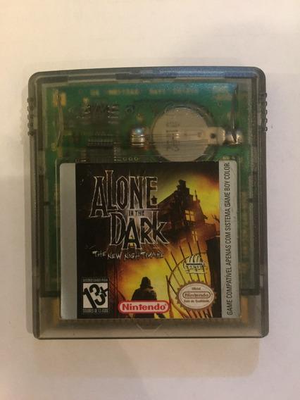Cartucho Alone In The Dark Game Boy Color