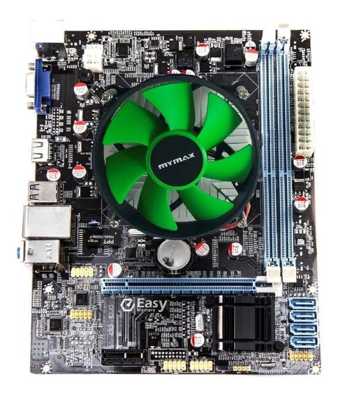 Kit Placa Mae 1155 H61 + Processador I7 2600 3.40 + Cooler